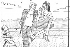Storyboard Black and White 45